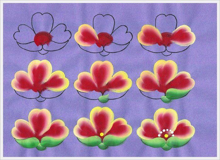 Уроки по китайской росписи в 2020 г | Цветочные картины ...