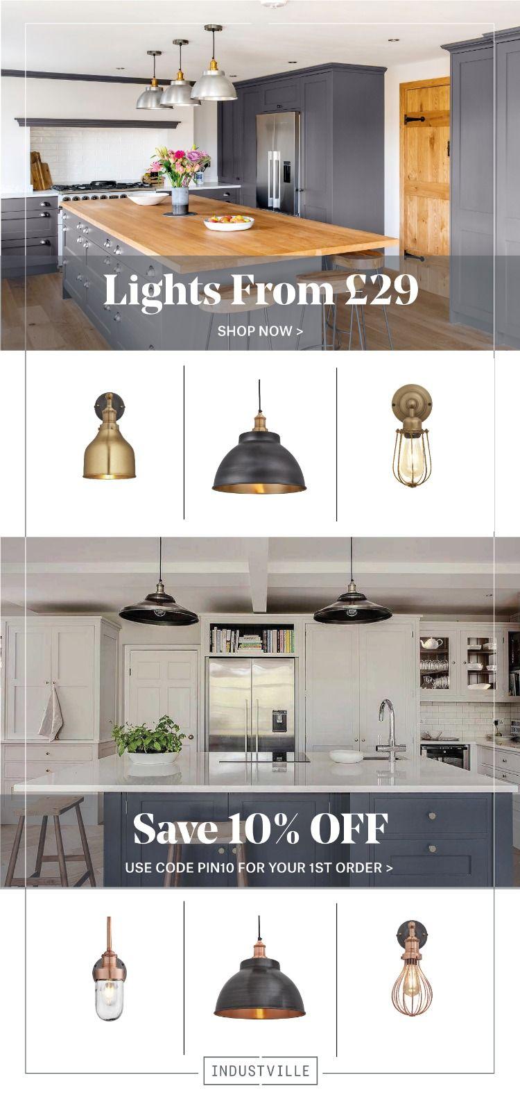 Save 10 On First Industville Order Retro Lighting Industrial