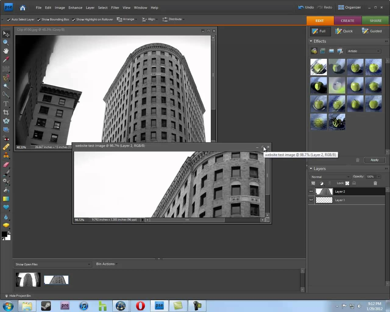 how to resize images for your website in photoshop
