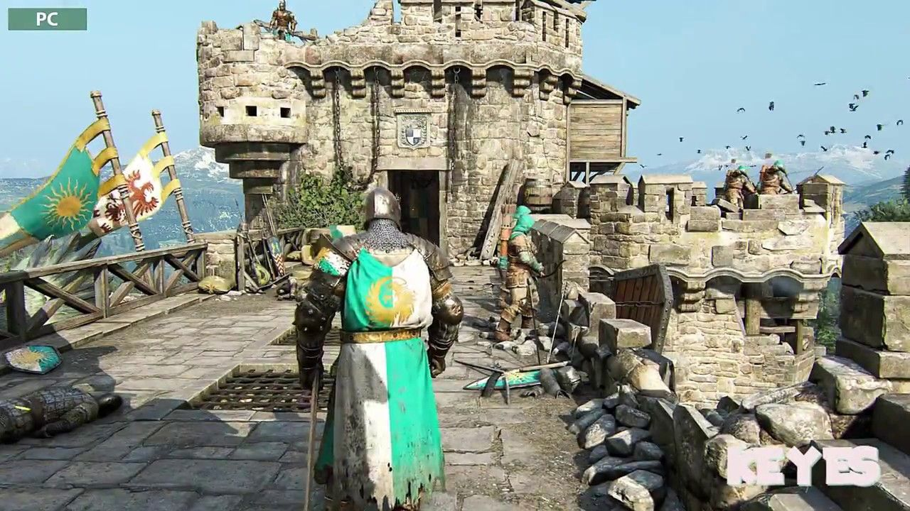 For Honor PS4 Pro vs PC Graphics Comparison[Video] #Playstation4