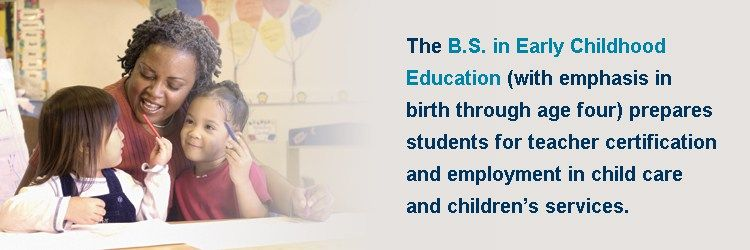 Bachelor Of Science In Early Childhood Education State College Of