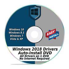 2018 All Windows Drivers for PCs 16 GB USB Auto Install /& Updates