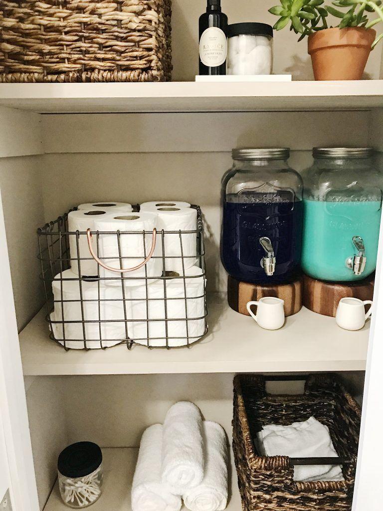 Linen Closet Organization - Ou La Vix Most linen c