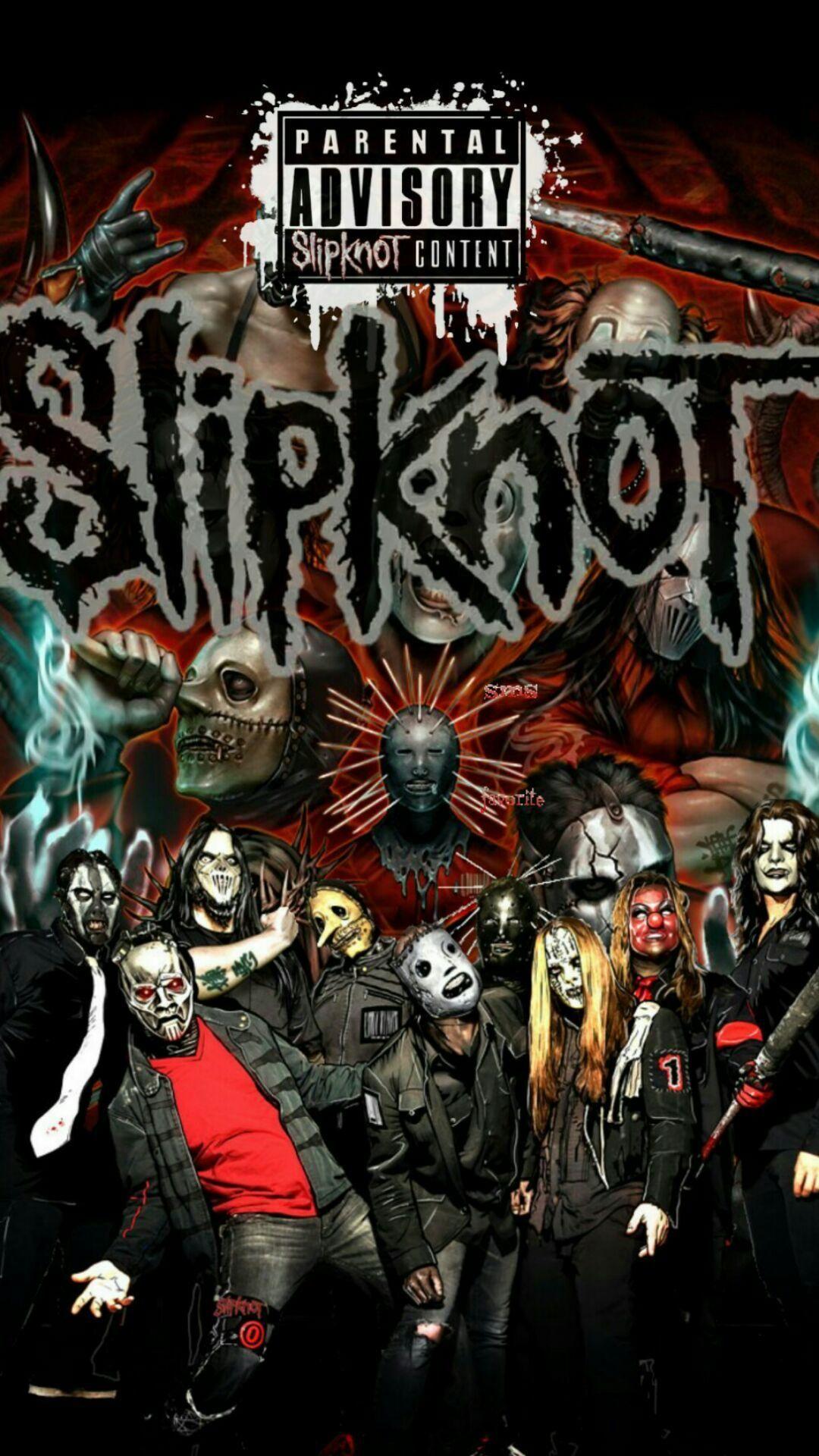 Imágenes de Heavy Metal para fondo de pantalla celular Slipknot - Wallpapers para smartphones y pc para descargar