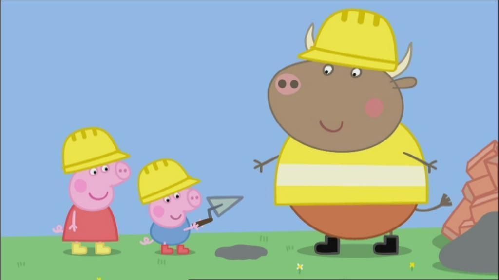 Mr Bull From Peppa Pig Peppa Pig Mr Bull Car Pictures Peppa Pig En Espanol Peppa Pig De Peppa