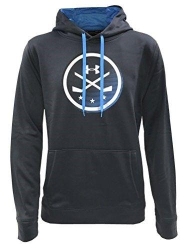 Under Armour Men S Ua Icon Hockey Stick Hoodie Hoody Sweatshirt 1299636 Size Small Black Royal Sweatshirts Hoodie Hoodies Sweatshirts