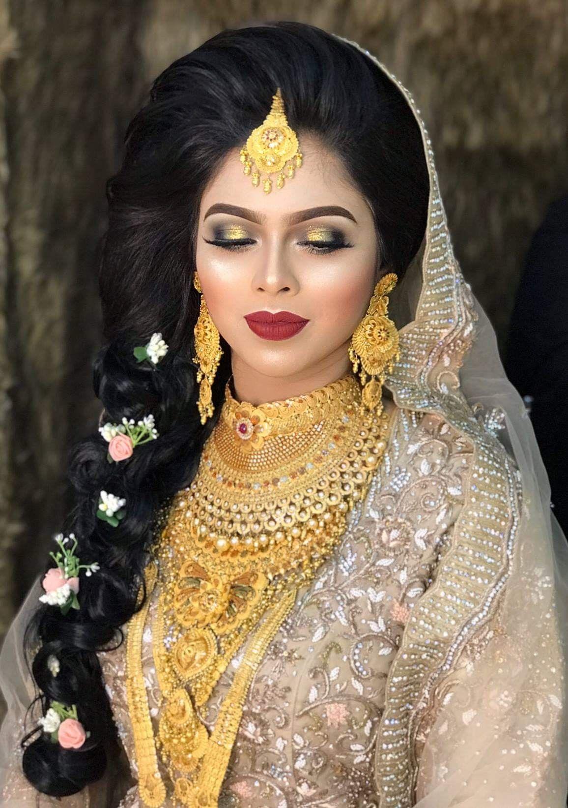 Pin by Peya on Beautiful Bride Bridal makeup wedding