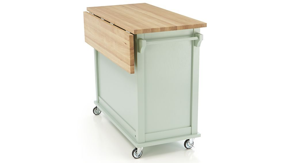 Belmont Mint Kitchen Island Reviews Crate And Barrel Kitchen Island Storage Portable Kitchen Island Diy Kitchen Cart