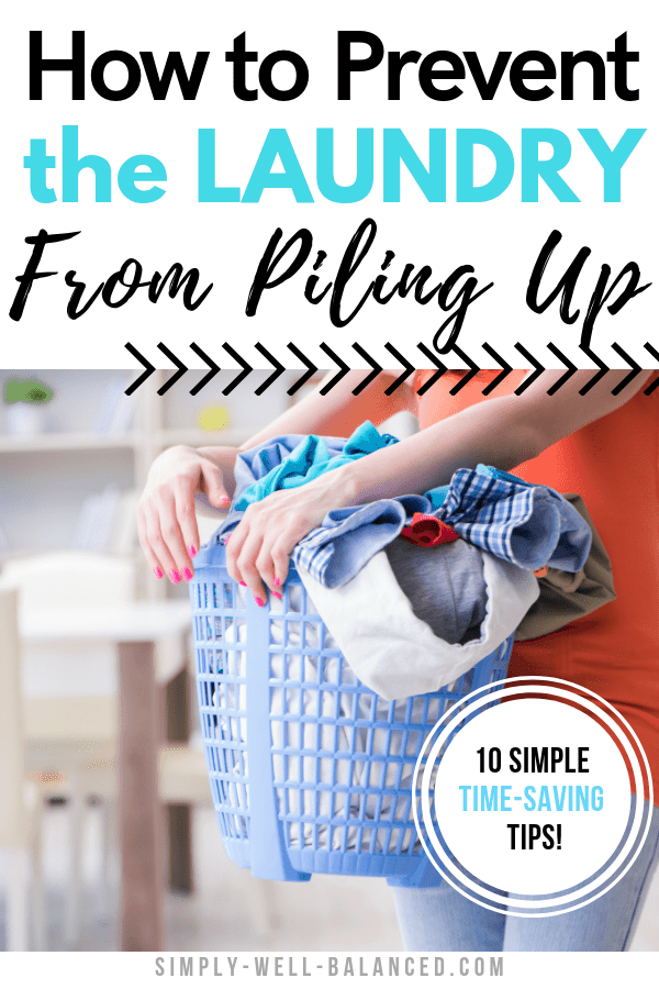 How to Prevent the Laundry Pile; 10 Simple Steps images