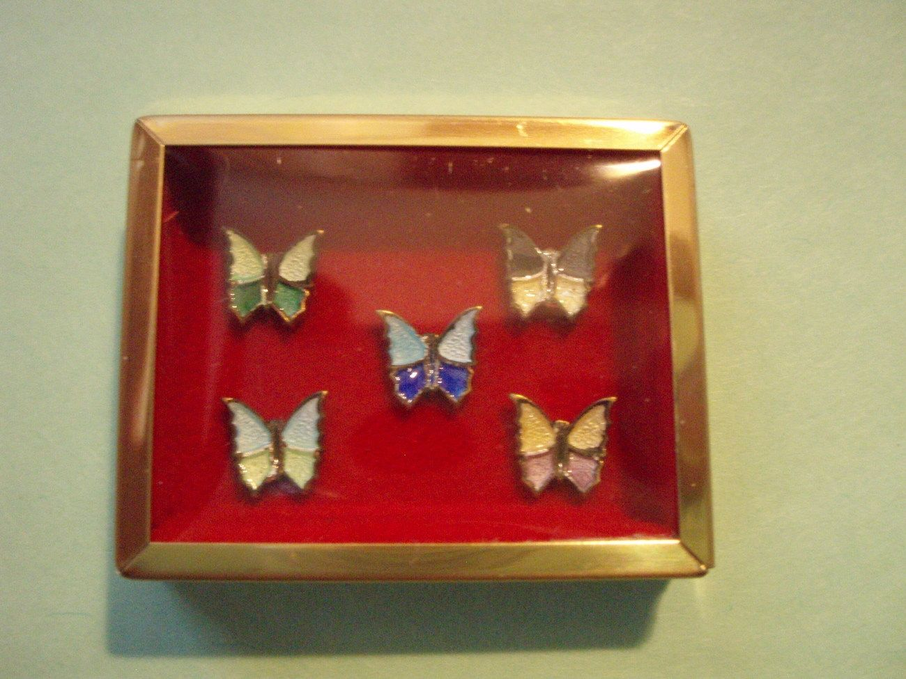 Butterfly  Miniature Dollhouse Doll House Picture