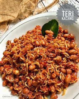 Resep Masakan Sambal Teri Kacang By Cheche Kitchen Resep Masakan Masakan Simpel Resep Masakan Sehat