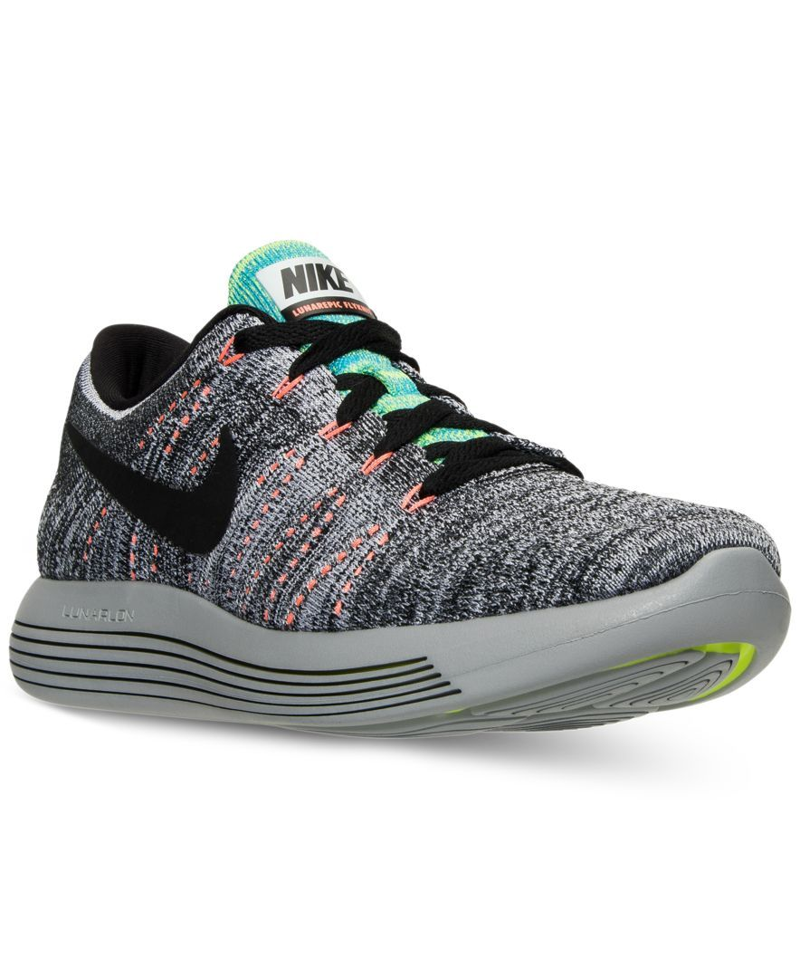 c2388d4fd856b8 Nike Men s LunarEpic Low Flyknit Running Sneakers from Finish Line ...