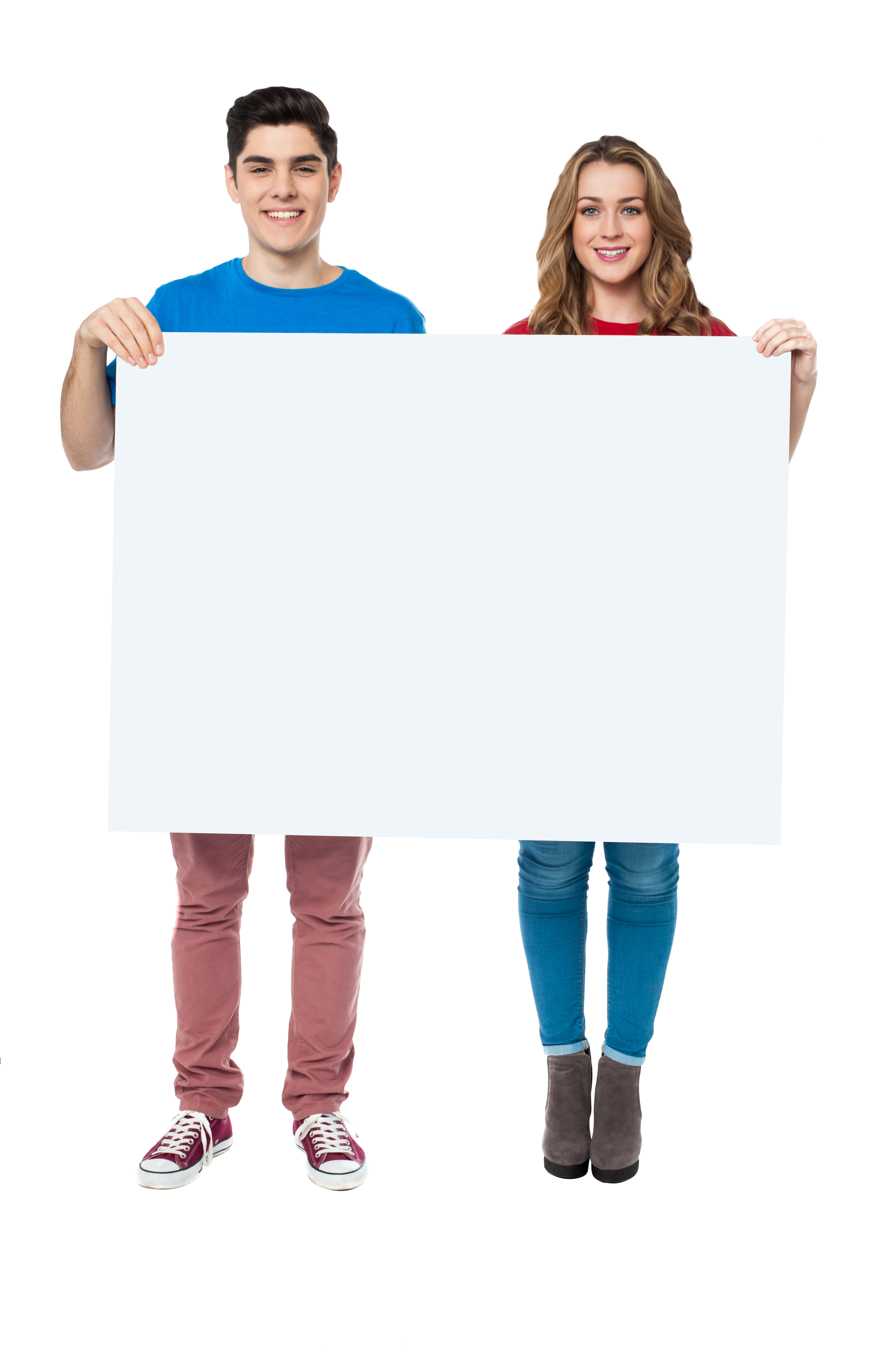 People Holding Banner Png Image People Banner Image