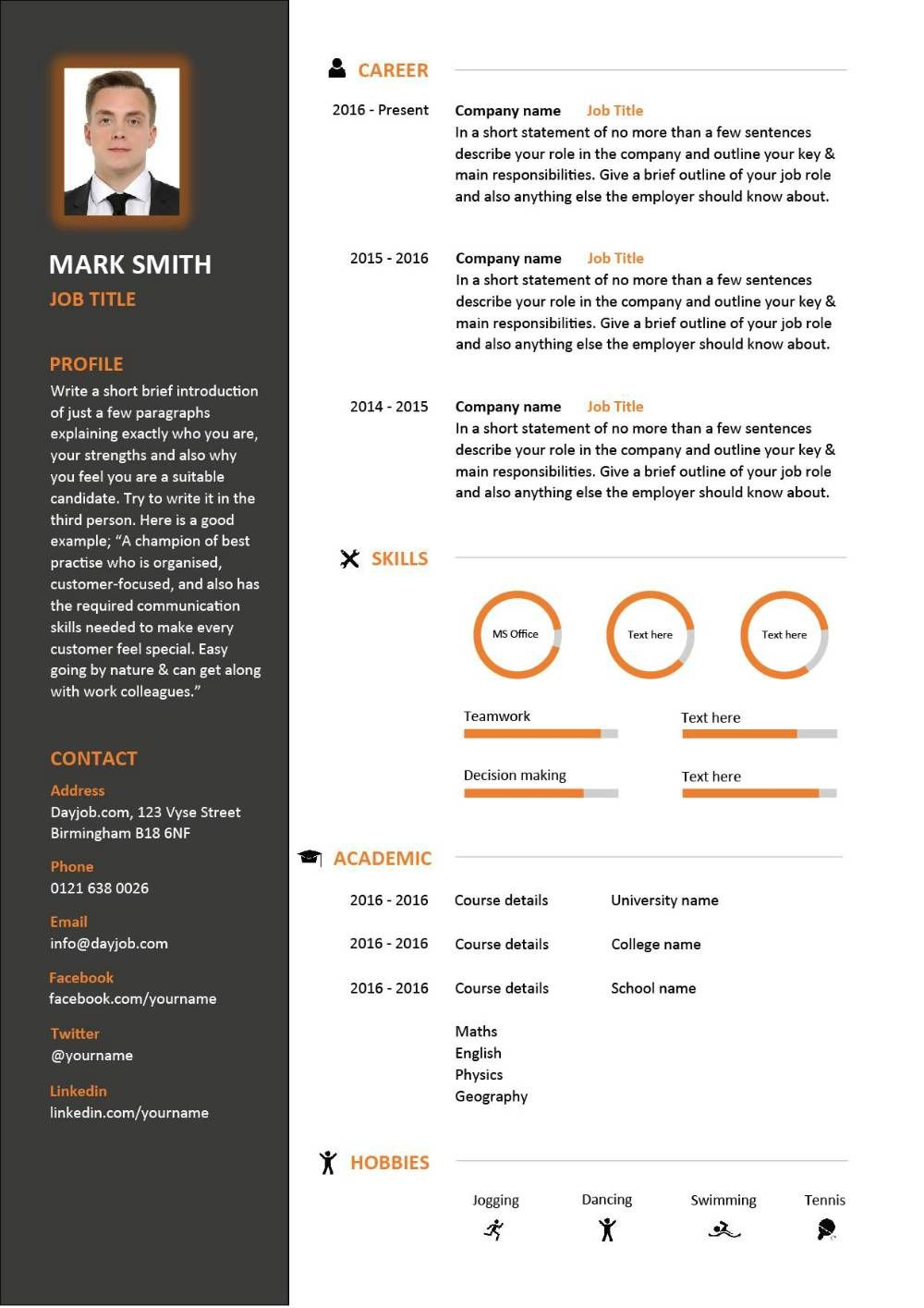 resume Resume Layout latest cv template designs resume layout font creative eye catching