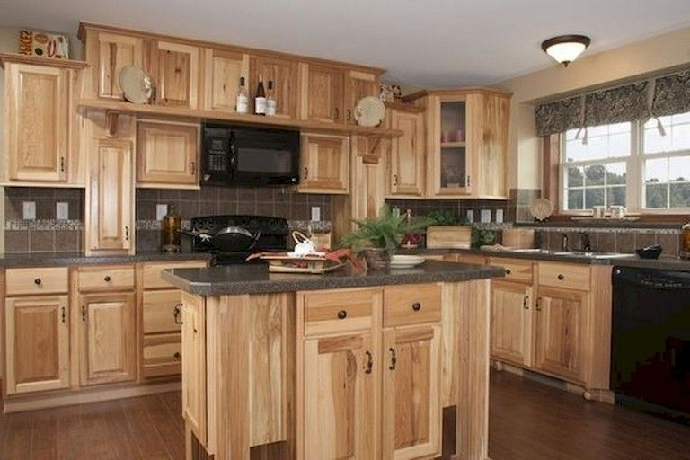 76 Rural Kitchen Cabinet Makeover Ideas Hickory Kitchen Cabinets Rustic Kitchen Cabinets New Kitchen Cabinets