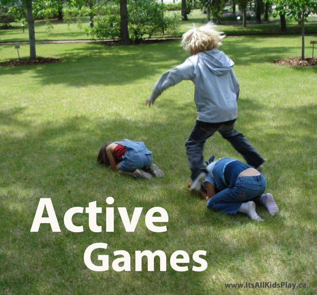 Active games for kidsget them outside and playing games