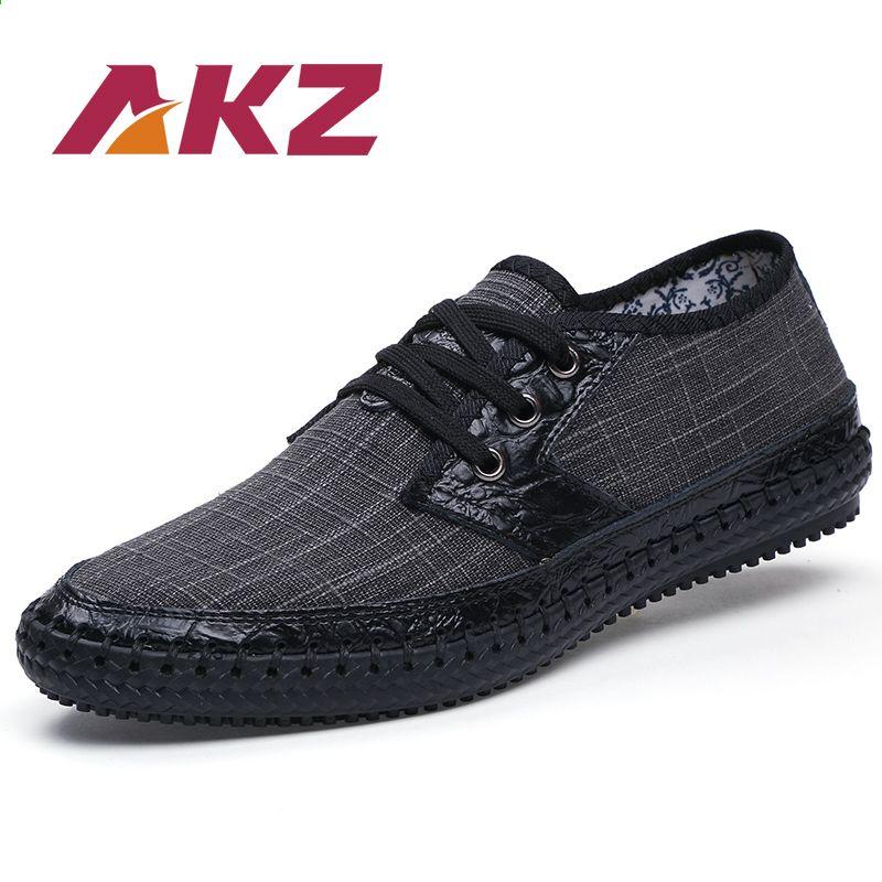 Akz Marka Mezczyzni Obuwie 2018 Nowa Wiosna Lato Konopie Oddychajace Wysokiej Jakosci Podeszwy Miekkie Wygodne M Mens Casual Shoes Dress Shoes Men Casual Shoes
