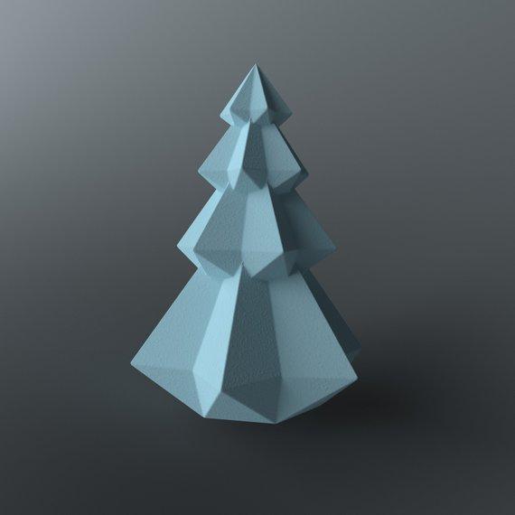 3d Papercraft Low Poly Christmas Tree Diy Paper Xmas Tree Etsy Paper Crafts Diy Christmas Tree Holiday Crafts Diy
