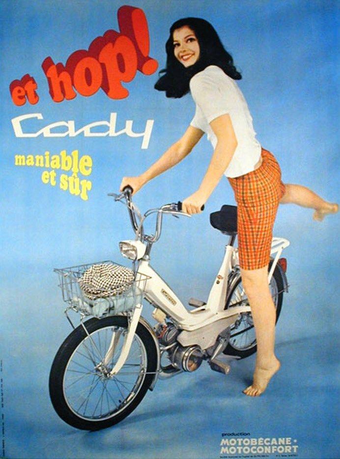 Cady Motobecane, 1970.