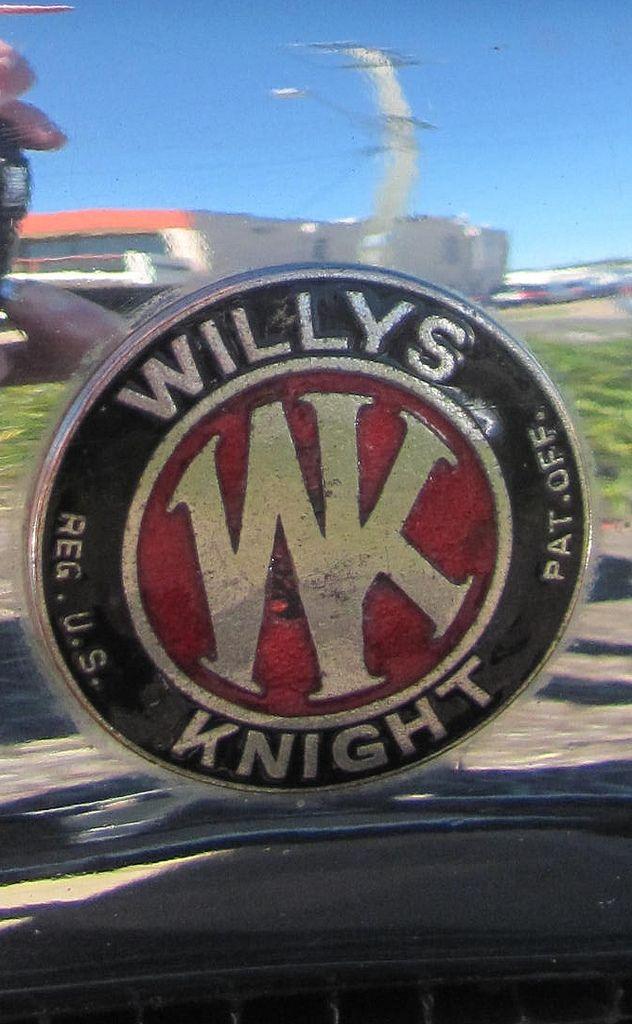 1928 S Knight Tourer Auto Logos Car Ornaments Volkswagen Logo
