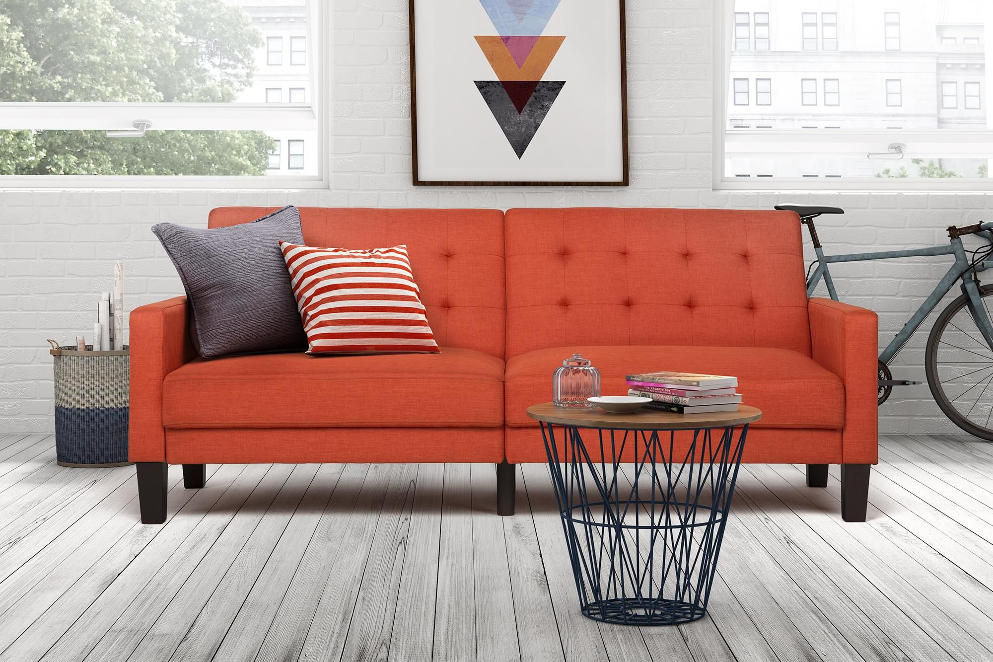 Elegance class and sophistication The Paris Futon helps in