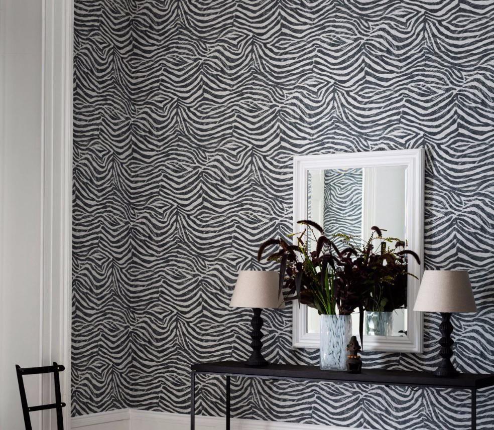 B Q On Twitter Wallpaper Design For Bedroom Zebra Wallpaper Grey Zebra Wallpaper