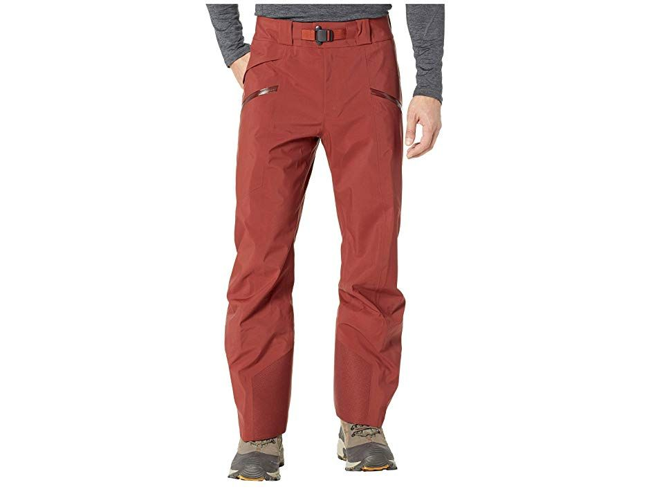 Arcteryx Sabre Pants Pompeii Mens Casual Pants The Sabre Pants offers waterproof and breathable protection with the hardwearing seasonafterseason durability you need whil...