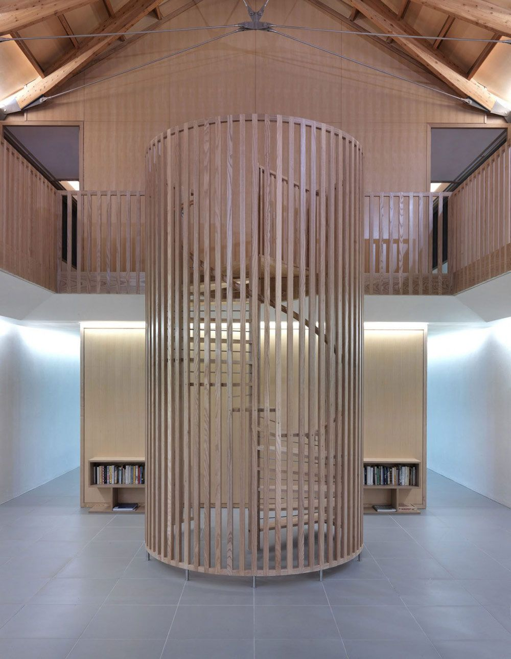 Best The Long House Norfolk Uk By Hopkins Architects House Staircase Long House Hopkins Architects 400 x 300