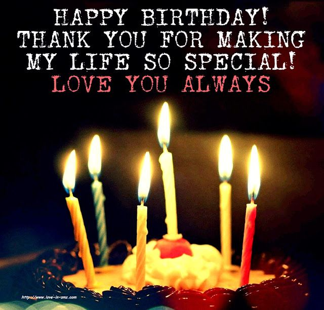 Happy Birthday Wishes To My Love Birthday Wishes For Lover