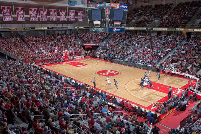 Temple University College Basketball Basketball Tickets College Basketball Temple Basketball
