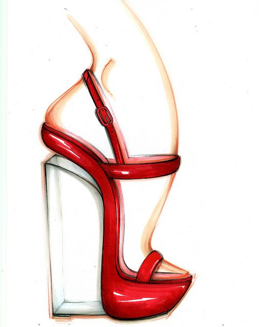 Casadei's Sketch #Plexi wedge