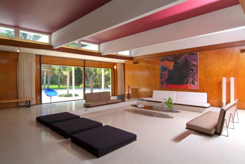 Paul Rudolph   David And Elene Cohen Residence (1952), Sarasota, Florida    · Office InteriorsMidcentury ModernModern ...