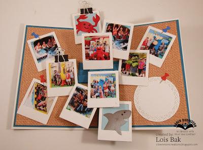 Glue Together Challenge Love Message Handmade Collage