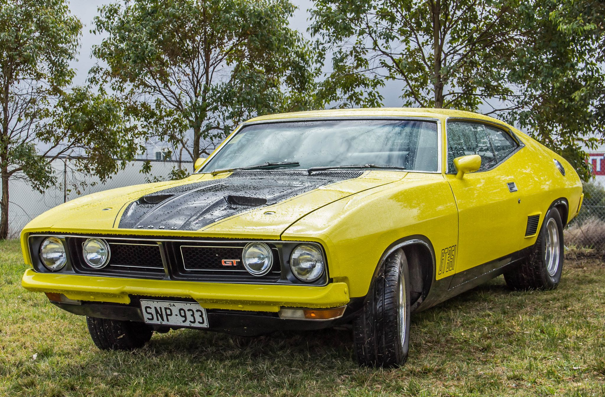 Ford Falcon Xb Gt Hardtop Aussie Muscle Cars Ford Falcon Old Muscle Cars