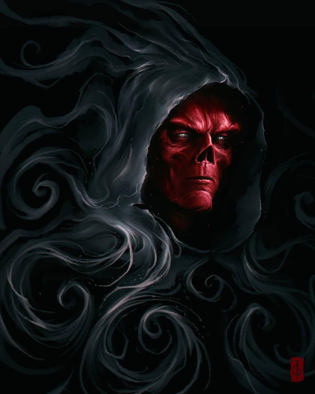 my Red skull fan art Red skull marvel, Red skull, Marvel