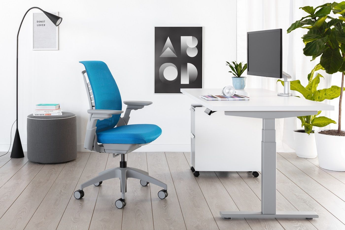 Office Support Adaptive Ergonomic Task Chairs Height