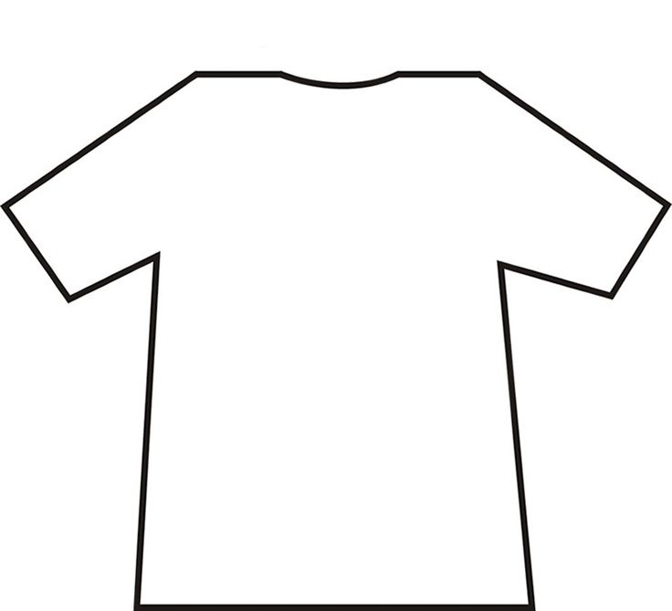 Hockey Jersey Outline
