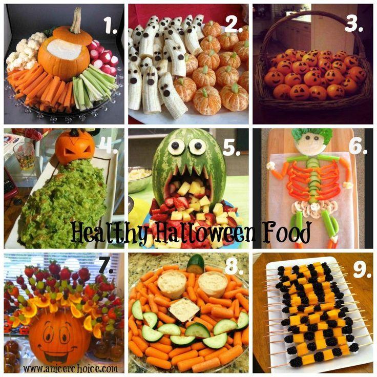 Healthy Halloween Food Ideas Halloween Pinterest Healthy - halloween party food ideas for kids