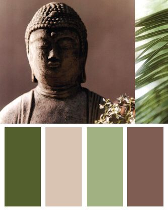 10 Zen Inspired Color Palettes Bandagedear Com Blog Zen Colors Zen Bathroom Bathroom Color Palette