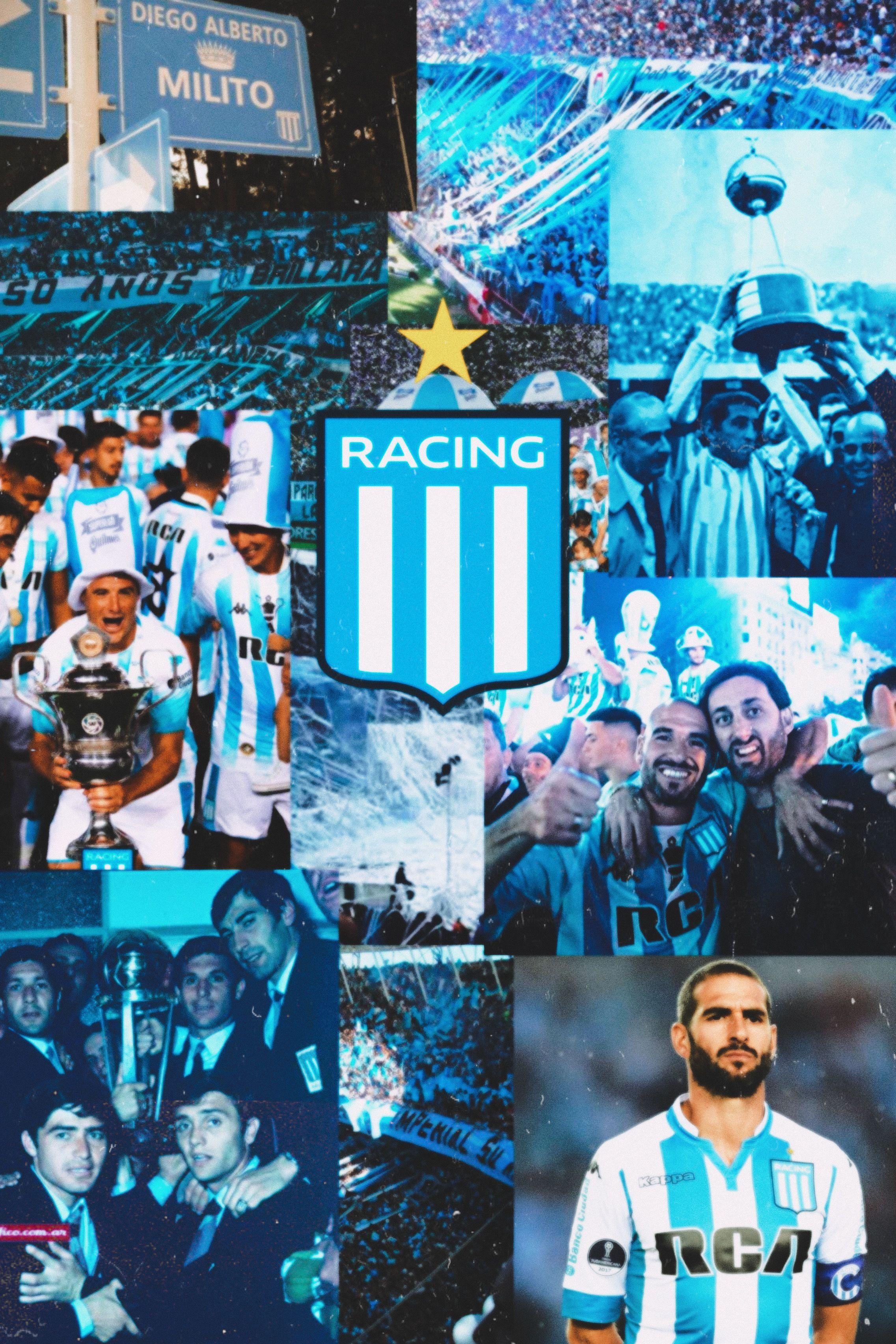 Racing Club Club Atlético Racing Club Fotografía De Fútbol Fondo De Pantalla Futbol