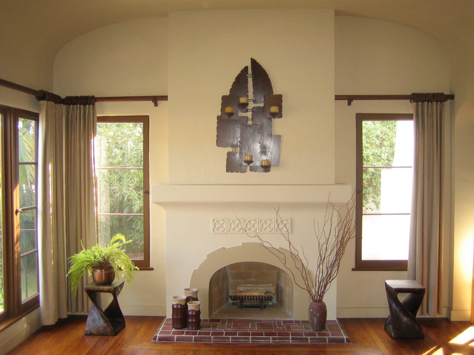 Fireplace Plaster Design Yahoo Search Results Liked Staging San