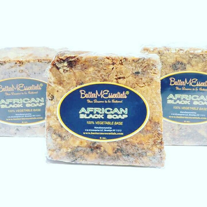 Acne, eczema no problem ButterMEssentials African Black soap with help you out. Order at www.buttermessentials.com