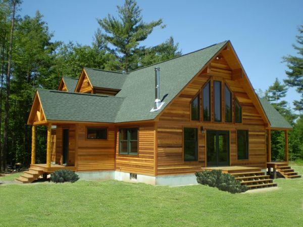 Bien-aimé Vive la maison en bois - la solution idéale pour les adeptes de la  ZM73