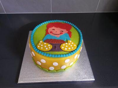 Blond Amsterdam taart (Blond Amsterdam cake)