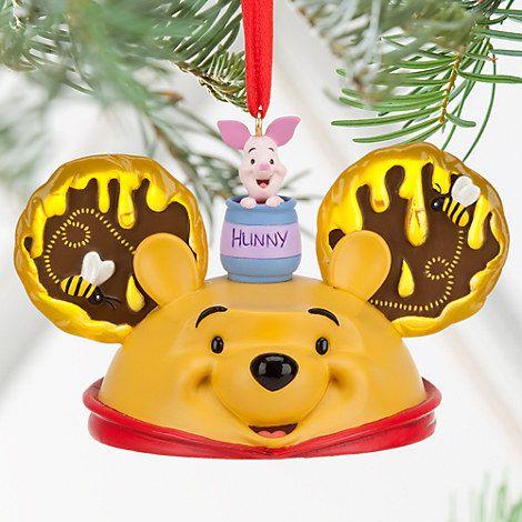 Winnie the Pooh Ear Hat Ornament Public Wish List Pinterest