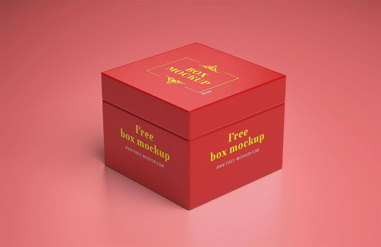 Download Gift Box Mockup Free Free Mockup Box Mockup Free Boxes Gift Box Design