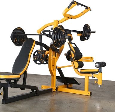 powertec fitness workbench multi system  at home gym diy