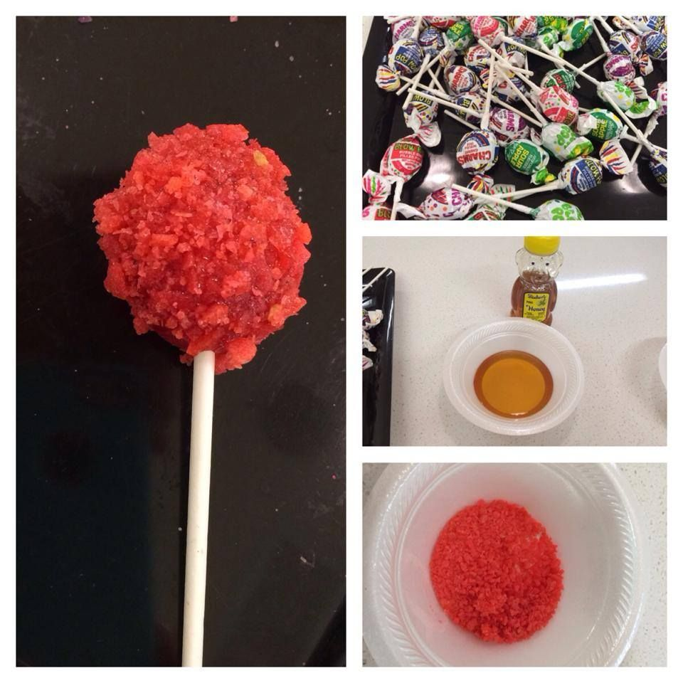 how to make acid pops from harry potter