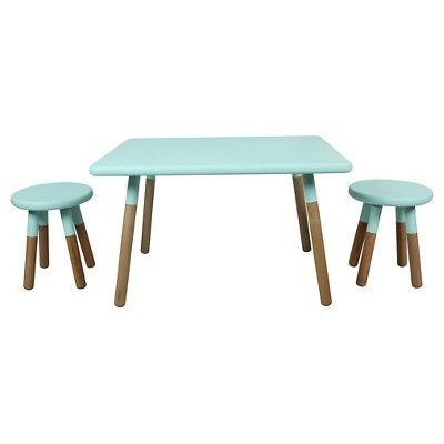 Juvenile Dipped 3 Piece Table Set Target Kids Play Table Kids