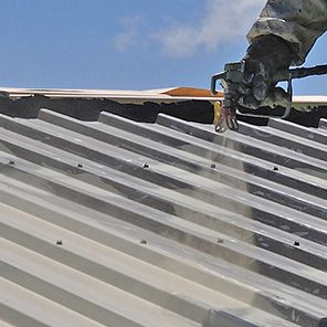 How To Paint A Roof Roof Paint Corrugated Roofing Diy Renovation